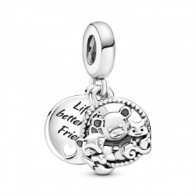 "Conta PANDORA Pendente ""life Is Better With Friends"" - 799078C00"