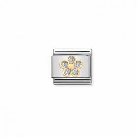 Link Nomination Composable Classic Glitter Flor - 030220/06
