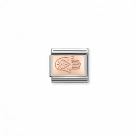 Link Nomination Composable Classic Mão Fátima - 430110/04