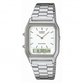 Relógio Casio Vintage Edgy Anadigito - AQ-230A-7DMQYES