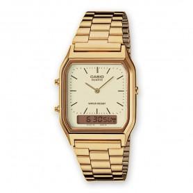 Relógio Casio Vintage Edgy Anadigito - AQ-230GA-9DMQYES