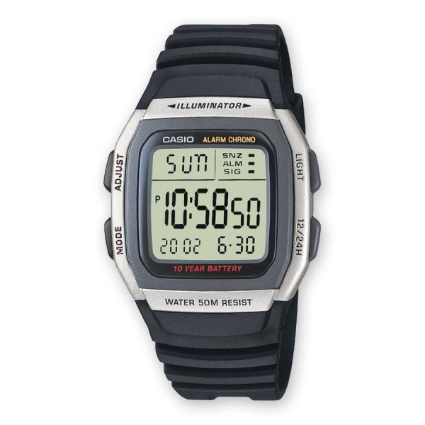 Relógio Casio Collection Digital - W-96H-1AVES
