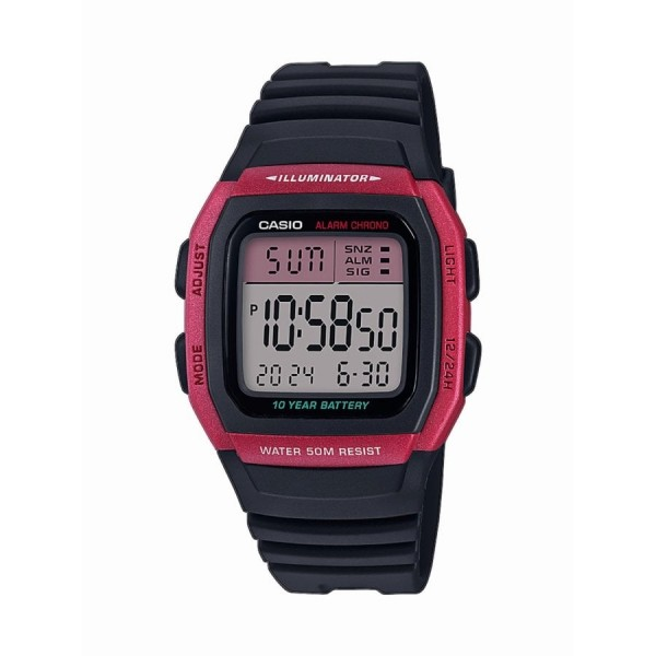 Relógio Casio Collection Digital - W-96H-4AVES