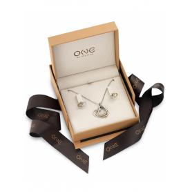 Set One Jewels Colar & Brincos Soulmate - OJSPK01S