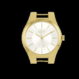 Relógio Eletta Icon Gold White - ELA550LB-G