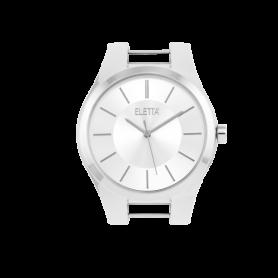Relógio Eletta Icon Silver White - ELA550LB-S