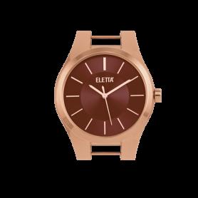 Relógio Eletta Icon Rose Brown - ELA550LC-R