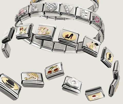 Guia de tamanhos das pulseiras Nomination Composable